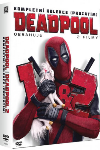 Deadpool 1&2 DVD