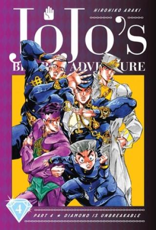 JoJo's Bizarre Adventure: Part 4--Diamond Is Unbreakable, Vol. 4