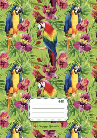 Školní sešit 440 Papoušci - Sešity