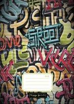 Školní sešit 444 Graffiti - Sešity