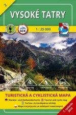 Vysoké Tatry 1:25 000