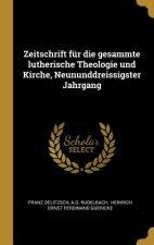 Zeitschrift Für Die Gesammte Lutherische Theologie Und Kirche, Neununddreissigster Jahrgang