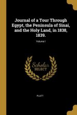 Journal of a Tour Through Egypt, the Peninsula of Sinai, and the Holy Land, in 1838, 1839.; Volume I