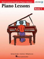 Piano Lessons Book 5: Hal Leonard Student Piano Library [With CD (Audio)]