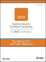 Official (ISC)2 SSCP CBK Reference