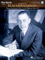 Rachmaninov Concerto No. 3 in D Minor, Op. 30: Book/Online Audio [With 3 CDs]