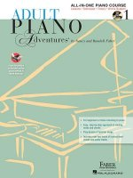 Adult Piano Adventures All-In-One Lesson Book 1: Book with CD, DVD and Online Support [With 2 CDs]