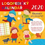 Logopedický kalendář se samolepkami - nástěnný kalendář 2020
