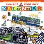 Domácí rodinný kalendář - nástěnný kalendář 2020