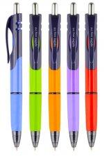 Triangle kuličkové pero Easy Ink, modrá náplň displej, mix barev