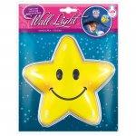 Wall light Hvězda - samolepící svítící dekorace 20x25,5 cm