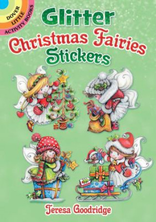 Glitter Christmas Fairies Stickers