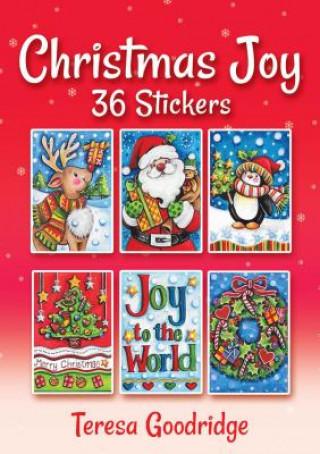 Christmas Joy 36 Stickers