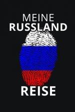 Meine Russland Reise: Russland Reisetagebuch - Tagebuch zum Eintragen der Erlebnisse und Erinnerungen - 120 Seiten, Punkteraster - Geschenki
