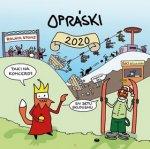 Opráski - nástěnný kalendář 2020