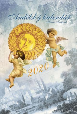 Andělský kalendář 2020 - nástěnný kalendář