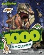 1000 samolepiek Dinosaury