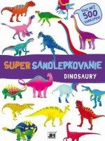 Super samolepkovanie Dinosaury