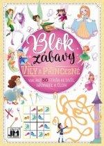 Blok zábavy Víly a princezné