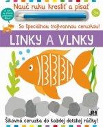 Nauč ruku kresliť a písať Linky a vlnky
