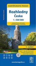 Rozhledny Česka 1:500 000