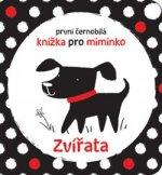 První černobílá knížka pro miminko Zvířata