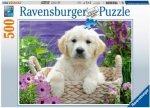 Süßer Golden Retriever (Puzzle)