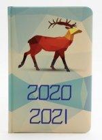 Diář školní 2020-2021 Polygonová zvířata18 měsíční