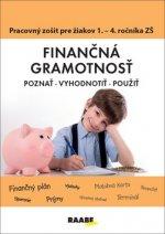 Finančná gramotnosť Pracovný zošiť pre žiakov 1. - 4. ročníka ZŠ