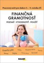 Finančná gramotnosť Pracovný zošit pre žiakov 5. - 9. ročníka ZŠ