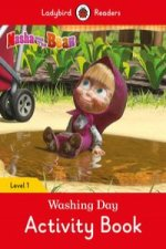 Masha and the Bear: Washing Day Activity Book - Ladybird Readers Level 1