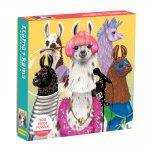 Llama Rama 500 Piece Family Puzzle