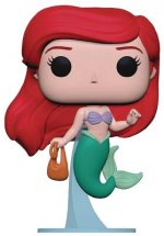 Pop Little Mermaid Ariel with Bag Vinyl Figure