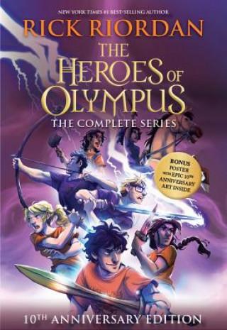 HEROES OF OLYMPUS PAPERBACK BOXED SET 10