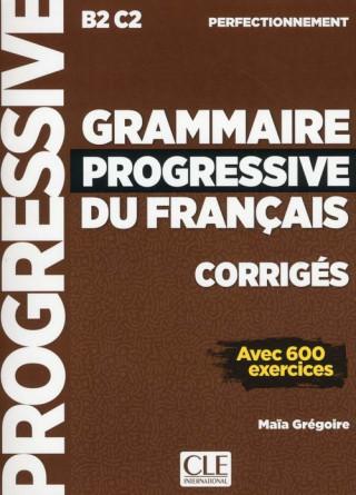 GRAMMAIRE PROGRESSIVE FRANçAIS CORRIGES B2/C2