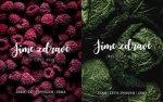 Jíme zdravě po celý rok Jaro Léto Podzim Zima