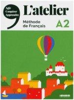 L'Atelier A2 - Kursbuch mit DVD-ROM und Code für das digitale Kursbuch