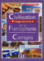 Civilisation progressive de la francophonie Niveau intermédiaire Corrigés