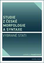 Studie z české morfologie a syntaxe (Vybrané stati)