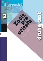 Nový Slovenský jazyk pre stredné školy 2 - Zošit pre učiteľa 2. časť