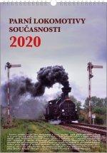 Parní lokomotivy současnosti - nástěnný kalendář 2020