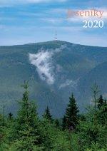 Jeseníky 2020 - nástěnný kalendář
