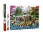 Vlčí rodina: Puzzle/1000 dílků