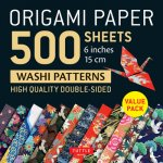 Origami Paper 500 sheets Japanese Washi Patterns 6