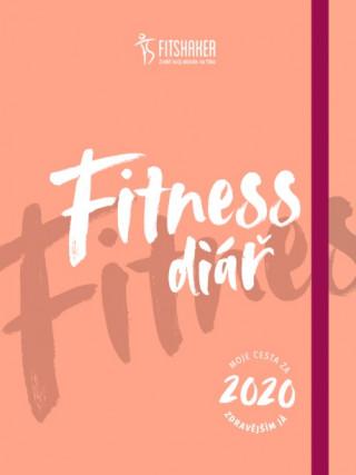 Fitness diář 2020  (český jazyk)
