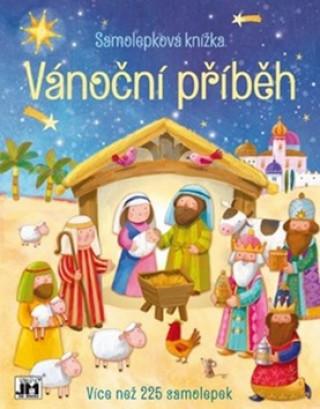 Samolepková knížka Vánoční příběh