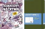 Výhodný balíček: Komiksový náčrtník a Skicář LEUCHTTURM1917 (zelený)