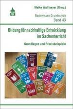 Bildung für nachhaltige Entwicklung im Sachunterricht