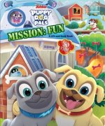 Disney Puppy Dog Pals: Mission Fun Lift-The-Flap