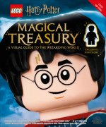 Lego(r) Harry Potter Magical Treasury (with Exclusive Lego Minifigure): A Visual Guide to the Wizarding World [With Toy]